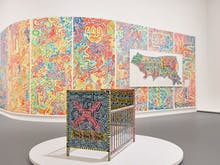 Take A Virtual Tour Of NGV's Haring And Basquiat Exhibition Any Day Of The Week