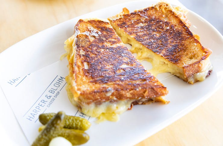 Epic Toasties, And Encyclopaedic Cheese Knowledge Is What You'll Get At Melbourne's Newest Cheese Emporium