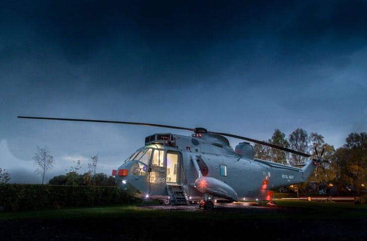 helicopter-glamping