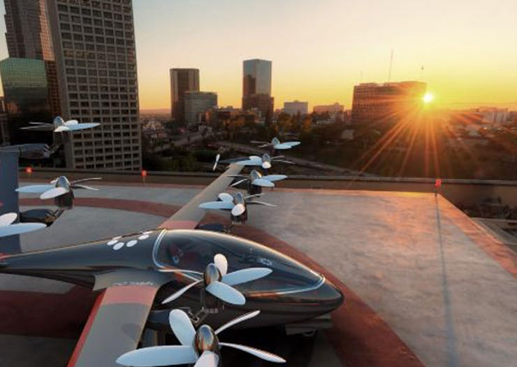 PSA: Uber's Flying Taxis Could Be Headed Our Way