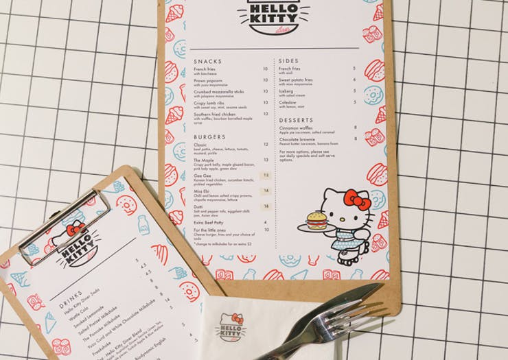 hello kitty diner Sydney