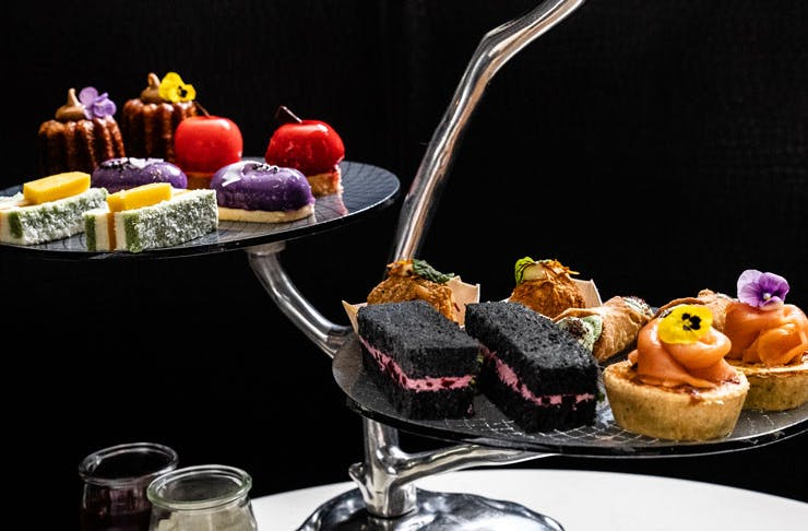 A high tea from the Sheraton Grand Hotel in Sydney