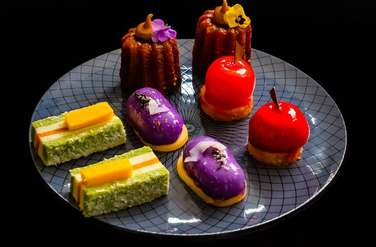 High Tea pastries and sweets