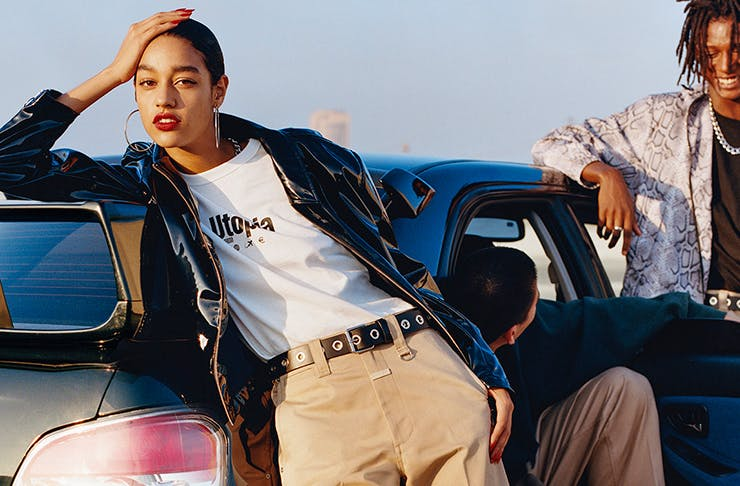Here's Your First Look At The New Gender Neutral H&M X Eytys Collab