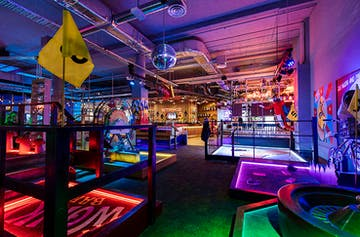 Start Practising, A Massive Mini Golf And Ten Pin Bowling Joint Has Just Opened