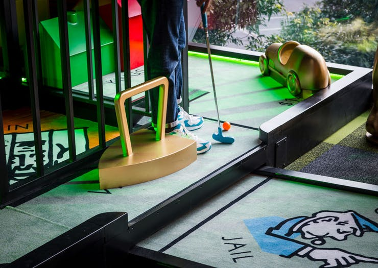 Melbourne Just Landed Itself Another Mini Golf Bar