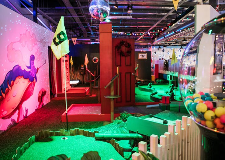Where To Play Mini Golf On And Around The Sunshine Coast