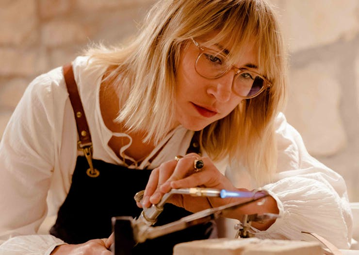 In The Studio | Holly Ryan On Recycled Jewels, Sustainability And Dressing Up For The Future