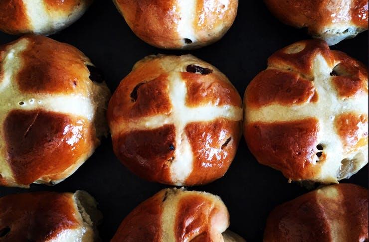 hot cross buns delivered sydney