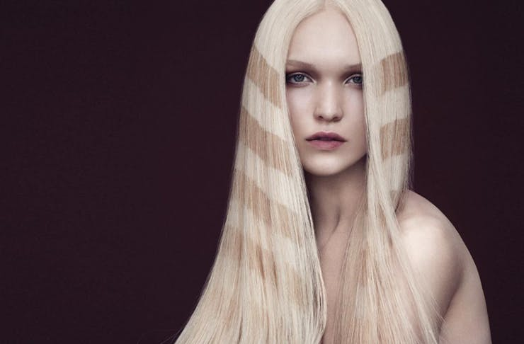 hair, hair instructions, how to do a blow-dry, blow-wave, davines