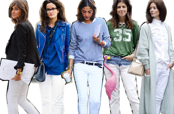 7 Days 7 Ways | How to Wear White Jeans Every Day of the Week