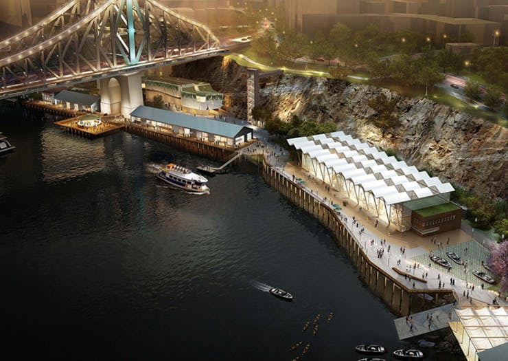There's A Two-Level Cantonese Bar Coming To Howard Smith Wharves