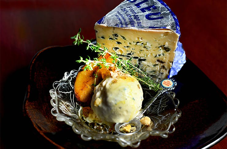 blue cheese ice cream