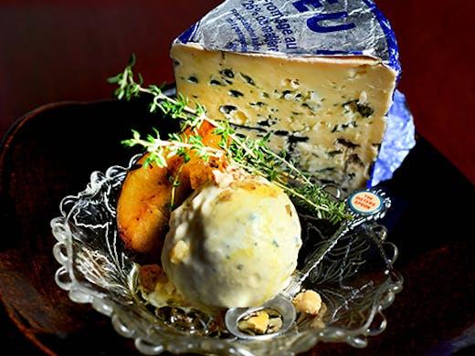 blue cheese ice cream