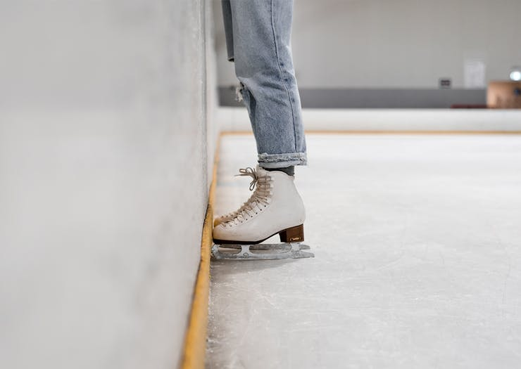 Time To Lace Up, Here's Where To Go Ice Skating On And Around The Coast