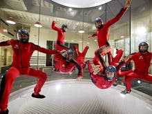 Defy Gravity At Brisbane's Huge Indoor Skydiving Wind Tunnel