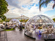 Rug Up, Those Beautiful Pop-Up Igloo Bars Are Back