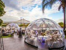 Remember Those Beautiful Pop-Up Igloo Bars? They're Back!
