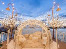 Step Into Your Own Winter Wonderland In Sydney's Fancy Harbourside Igloo Suites