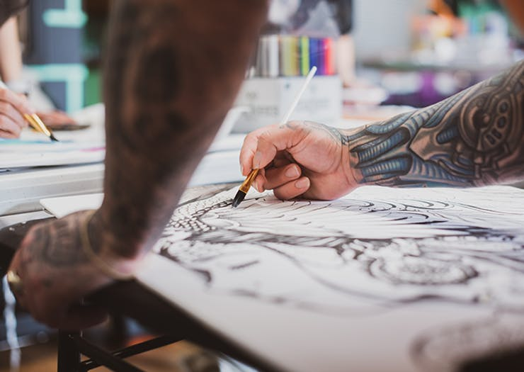 Sketch Books Out, The NGV Is Hosting Virtual Drawing Classes Every Sunday