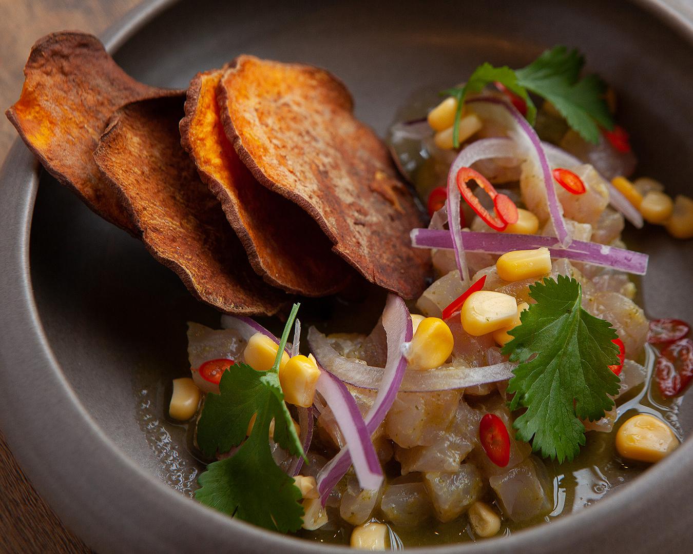 Yummy food at Inca