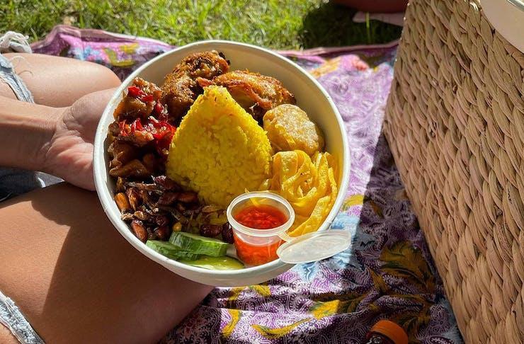 Tasty takeaway food from It's Java.