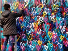 Meet The New York-Inspired Street Artist Who Has Brought Thousands Of Love Hearts To Melbourne