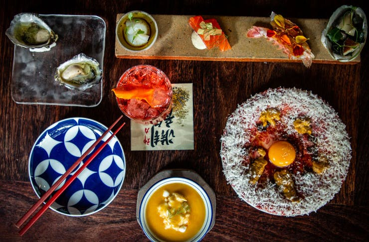 Dishes from Chaco Bar in Darlinghurst.