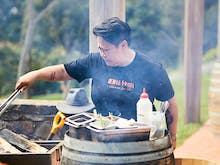 Look For The Smoke, Jerry Mai Is Throwing An Open-Air Barbecue Party At This Peninsula Winery