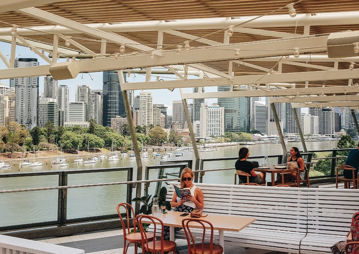 Joey's Is Kangaroo Point's Stunning New Clifftop Spot To Sip Spritzes With A View