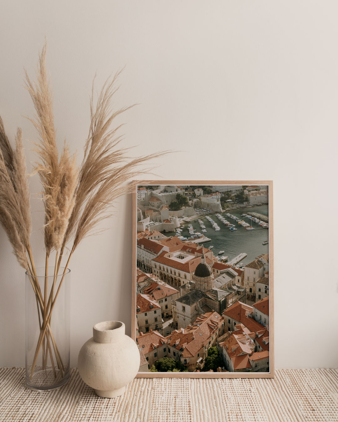 A framed print by Aleksandar Jason as part of July Travel Editions.