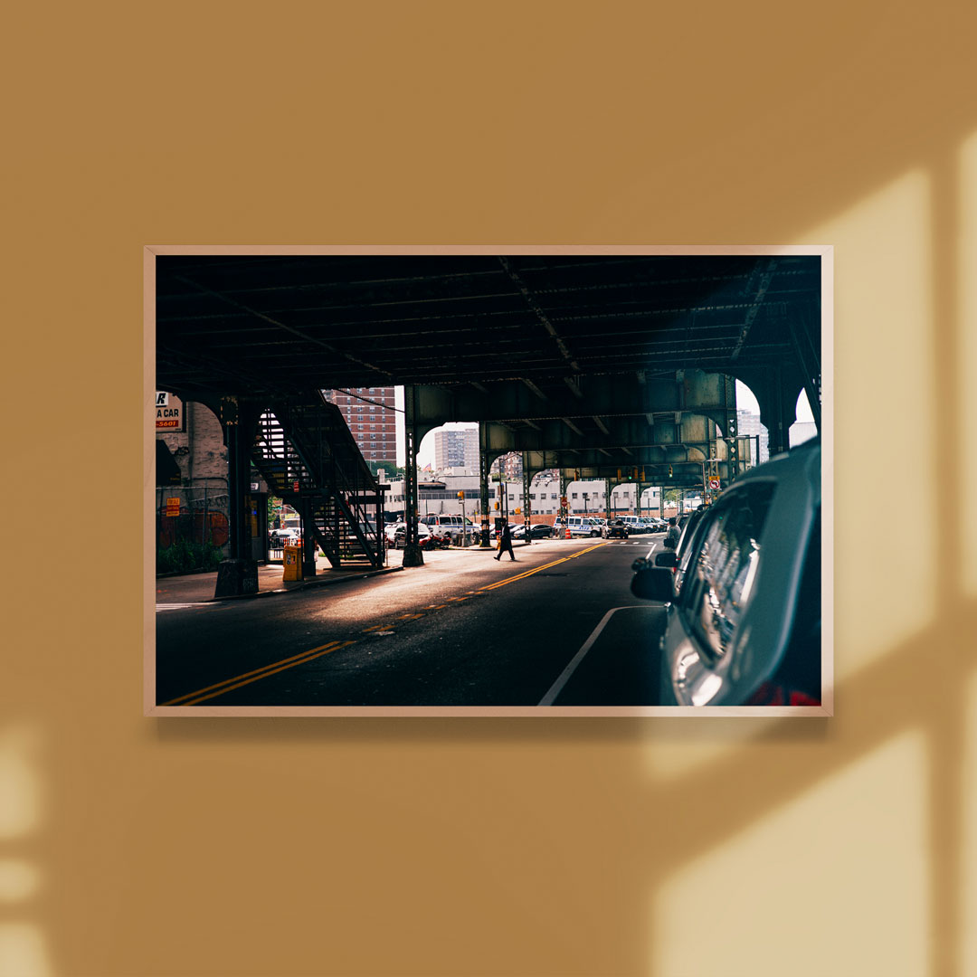 A framed print by Sam Wong as part of July Travel Editions.