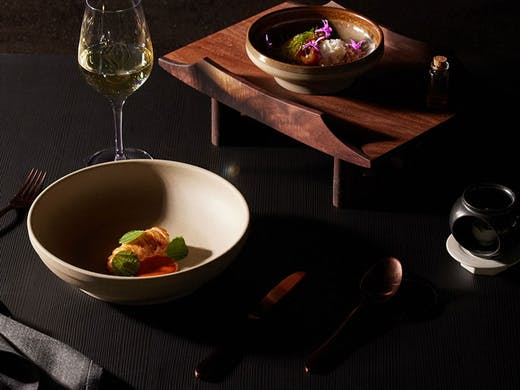 Dishes from Jung Sung in Sydney