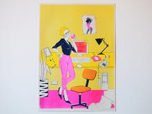 This West End Exhibition Is Hailing The Return Of Risograph Art