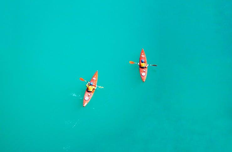 where to kayak gold coast