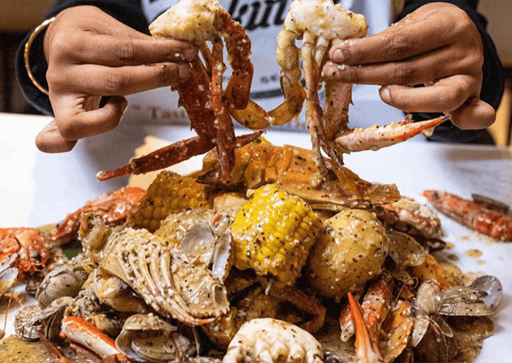 Sydney's Cajun Seafood Joint Is Delivering Those XL Seafood Bags To Your Door