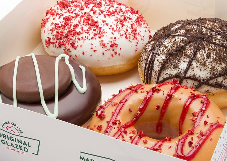 Krispy Kreme Have Just Dropped Four New Doughnuts, And You're Going To Want To Devour Them All