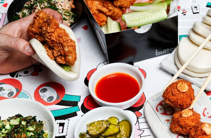 Kong's Holding A Fire, Fried Chicken and Champagne Party Next Week
