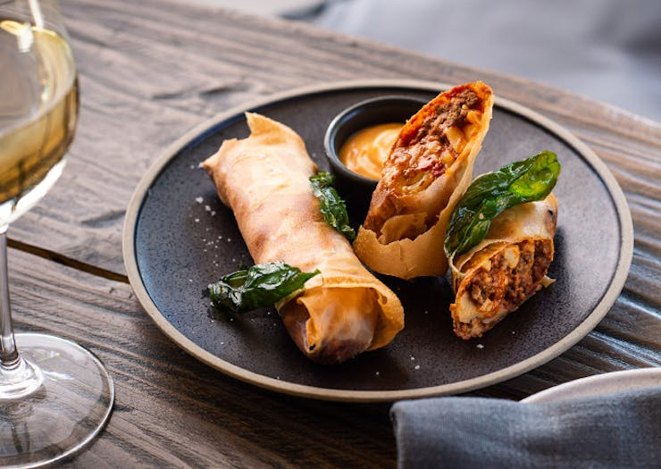Lasagne Spring Rolls Are About To Land In Sydney