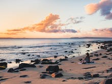 Catch The Sunrise On The Sunshine Coast At These 7 Picture-Perfect Spots