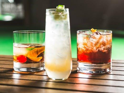 Less Than Zero cocktails