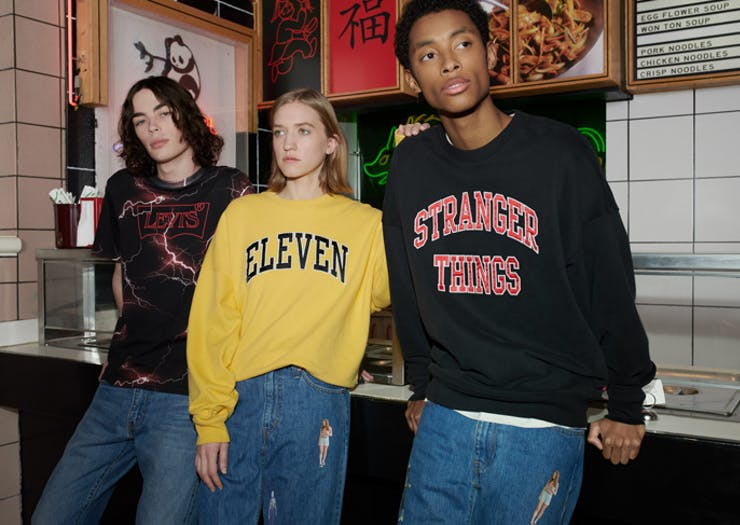 Embrace 1985 And The Upside Down With Levi's Massive Stranger Things Collab