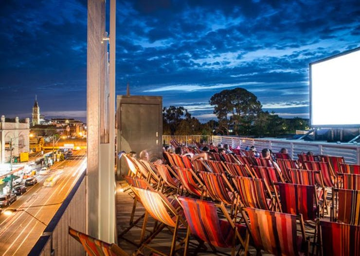 The Lido Cinema Just Dropped Its Epic Summer Rooftop Program