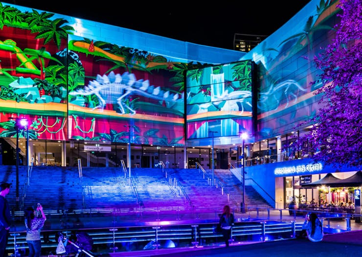 A Light-Filled Night Market Is Heading To Chatswood For Vivid