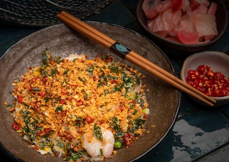 A dish from Lilymu Parramatta.