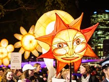 A Luminous, Multi-Coloured Lantern Parade Will Light Up South Bank Next Week