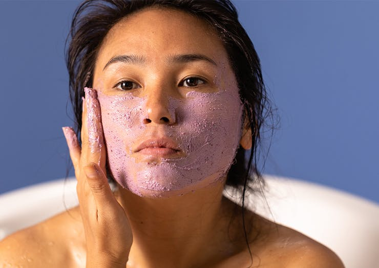 Have Sweet Smelling Dreams, Lush's New Clay Face Mask Is Designed To Help You Sleep