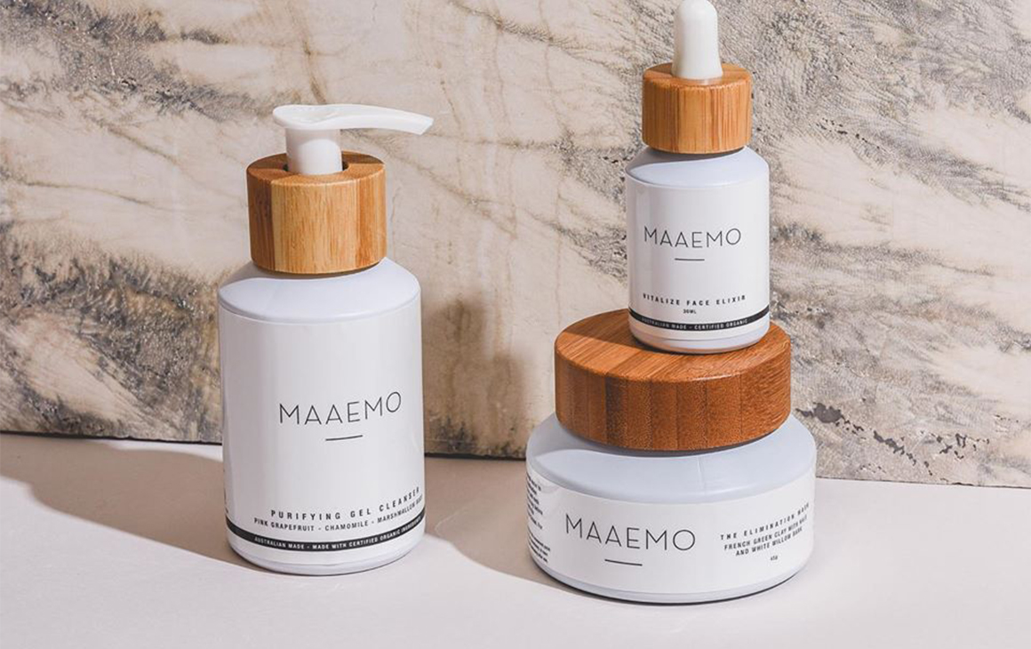 Several different products from Maaemo