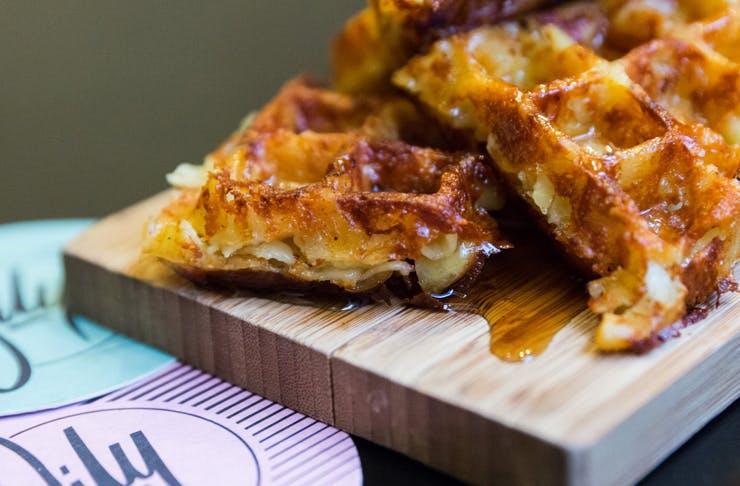 Mac N Cheese Waffles Sydney