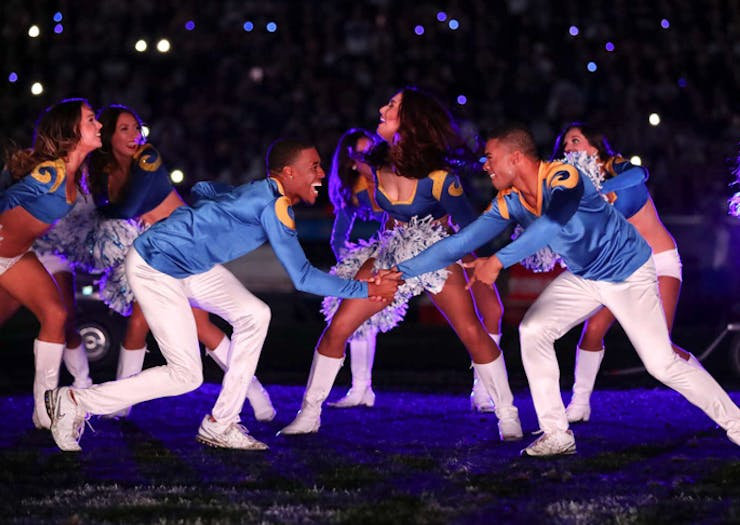 This Year's Super Bowl Will Feature Male Cheerleaders For The First Time